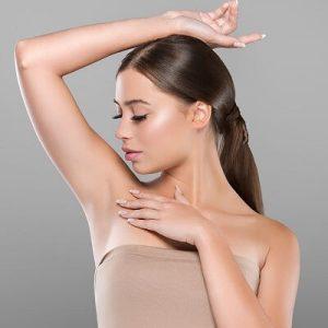 Underarm whitening treatment in Dubai